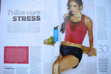 spread trillen tegen stress - women's health