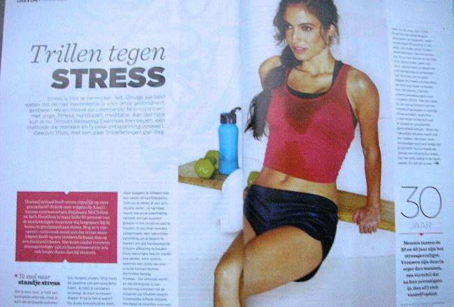 spread trillen tegen stress - women's health